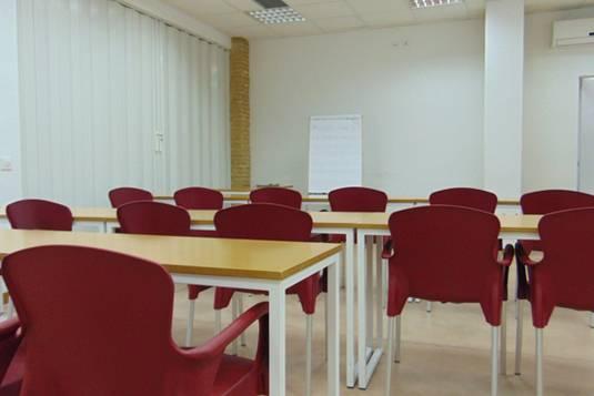 Alquiler Aula de formación en Valencia