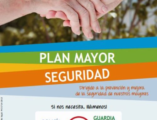 Cuidado ancianos en materia de seguridad, Plan Mayor