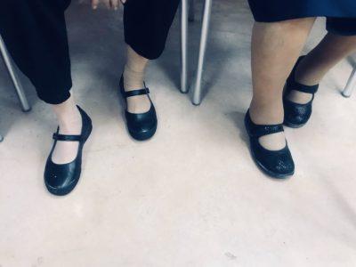 cuidado de ancianos pies