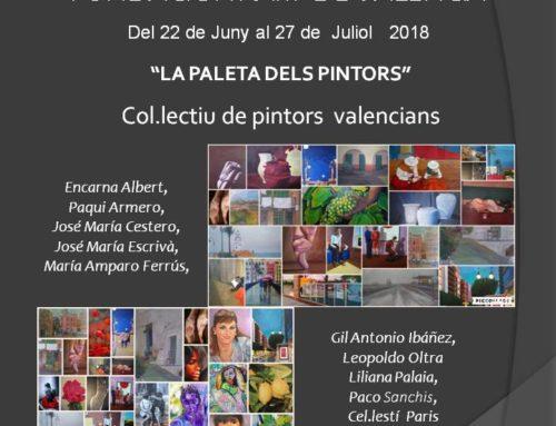 Exposición de pintura en Valencia: La Paleta dels pintors