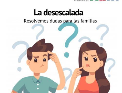 Resolvemos dudas para las familias sobre la desescalada